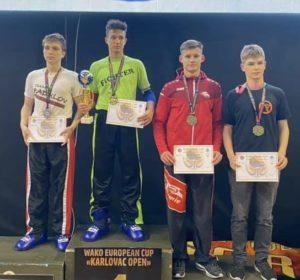 Siegerehrung Maik - Zweiter von rechts